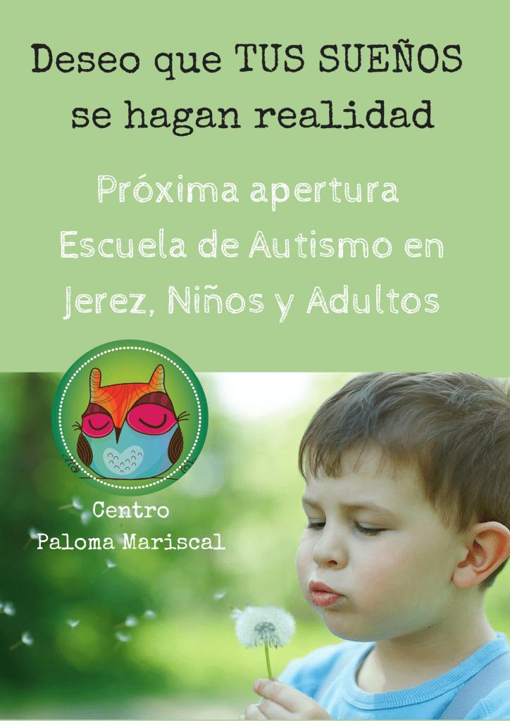 escuela de autismo primer cartel apertura