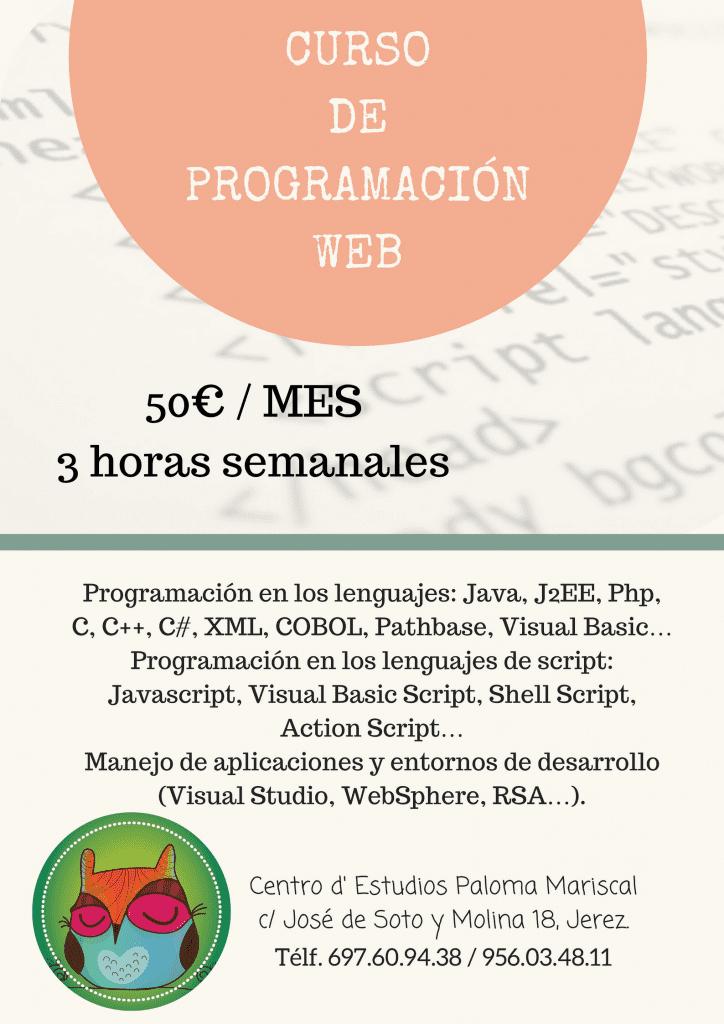CURSO DEPROGRAMACIÓN WEB