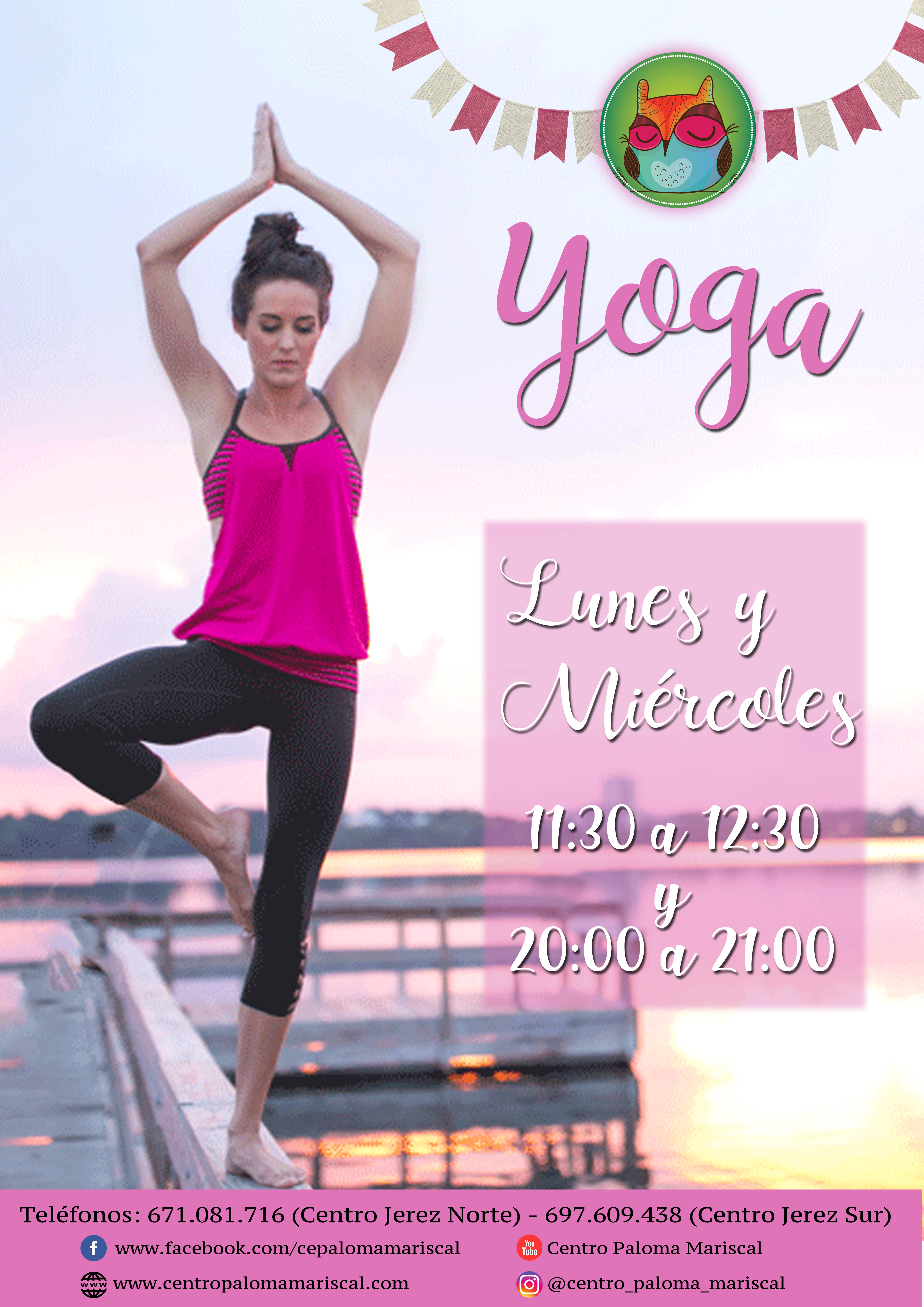 Clases de Yoga dos veces en semana por 25€